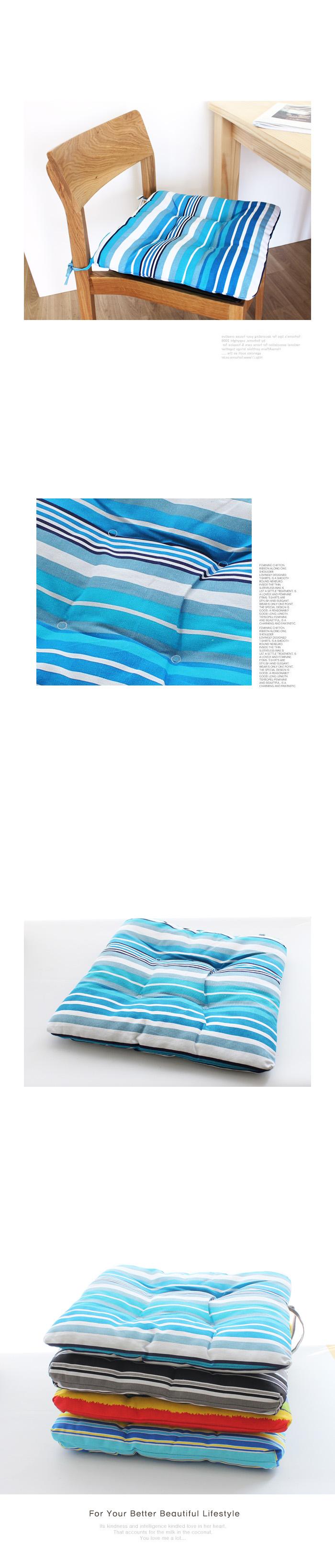 블루스프라이트 방석-BO14 - 리버그린, 12,800원, 방석, 패턴